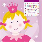 Fairy Birthday - Personalised Card