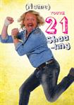 21st Keith Lemon - Personalised Card