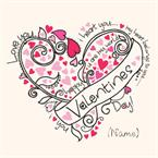 Valentines Day - Personalised Card