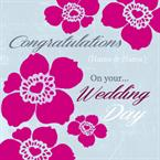 On your Wedding Day - Personalised Card