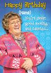 Mrs Browns Boys Birthday - Personalised Card