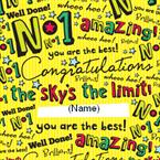 Congratulations - Personalised Card
