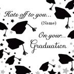 On your Graduation - Personalised Card
