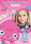 Moshi Monsters - Personalised Photo Card
