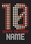 10th Birthday - Personalised Card
