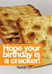 Cracker's Birthday - Personalised Card