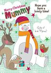 Merry Christmas Mummy - Personalised Card