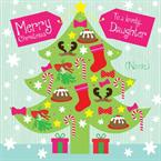 Christmas Tree - Personalised Card