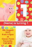 Turning 1 - Personalised Invites