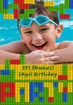 Lego Party - Personalised Photo Invites