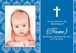 Christening - Photo Personalised Invites