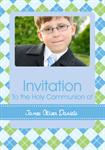 Holly Communnion - Personalised Photo Invites