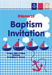 Little Sailor Baptism - Personalised Invites