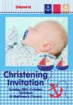 Christening Little Sailor - Personalised Photo Invites