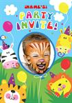 Jungle - Personalised Photo Invites