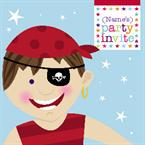 Pirate Party - Personalised Invites