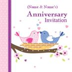 Wedding Anniversary - Personalised Invites