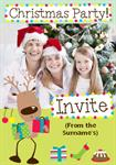 Christmas Party - Personalised Photo Invites