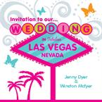 Las Vegas Wedding Invitation - Personalised Invites