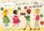 Party Time!  - Personalised Invites