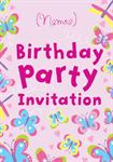 Butterflies & Dragonflies - Personalised Invites