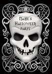 Skull Halloween - Personalised Invites
