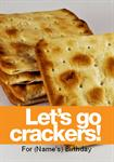 Let's Go Crackers - Personalised Invites