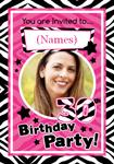 30th Birthday Party - Personalised Photo Invites