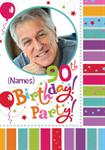 90th Birthday Party - Personalised Photo Invites