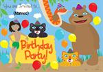 Jungle Book - Personalised Invites