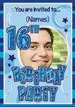 16th Birthday Party - Personalised Photo Invites