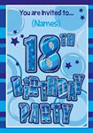 18th Birthday Party - Personalised Invites