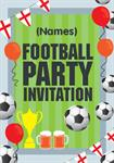 Football Party - Personalised Invites