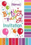 Birthday Party - Personalised Invites