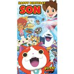 Yo-Kai Watch Son Birthday Card