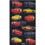 Cars 3 Fun Foiled Stickers