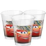 Disney Cars 3 - 200ml Plastic Party Cups