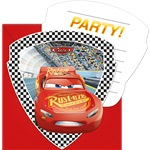 Disney Cars 3 - Invitations & Envelopes