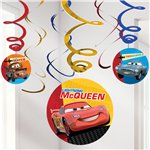 Disney Cars Party Decorations - Hanging Swirls 61cm