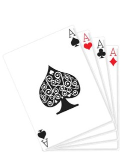 Hand of Cards Cardboard Cutout - 152cm