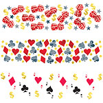 Casino Confetti - 34g Bag Table Confetti
