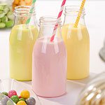 Clear Plastic Milk Bottles