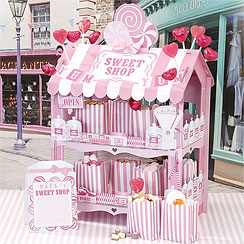 Sweet Shop Pink Treat Stand - 38cm