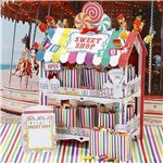 Sweet Shop Rainbow Treat Stand - 38cm