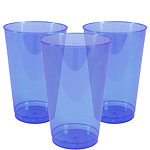 Royal Blue Plastic Tumbler Glasses - 414ml