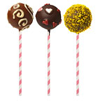 Candy Stripe Cake Pop Sticks