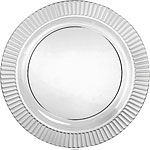 Clear Plates - 26cm Plastic Party Plates