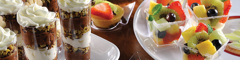 Plastic canap dishes disposable appetizer dishes for Disposable canape dishes uk