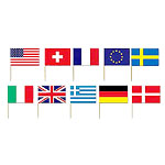 International Flag Picks - 7cm