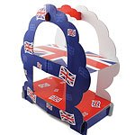 Union Jack 2 Tier Sandwich Stand